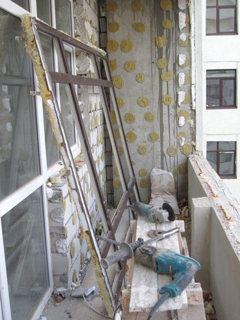 Демонтаж во время капитального ремонта квартиры